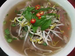 Vietnamese Cuisine.. Pho Soup