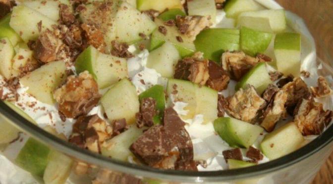 Apple Snicker Dessert Trifle -By Nisha -Mumbai….